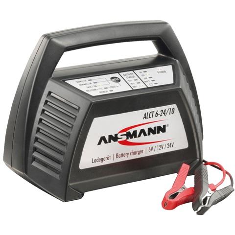 מטען אוטומטי למצברים - ANSMANN ALCT6-24/10 - 6-24V 10A ANSMANN