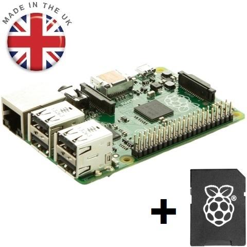 RASPBERRY PI - MODEL B+ - 8GB SD BUNDLE RASPBERRY PI