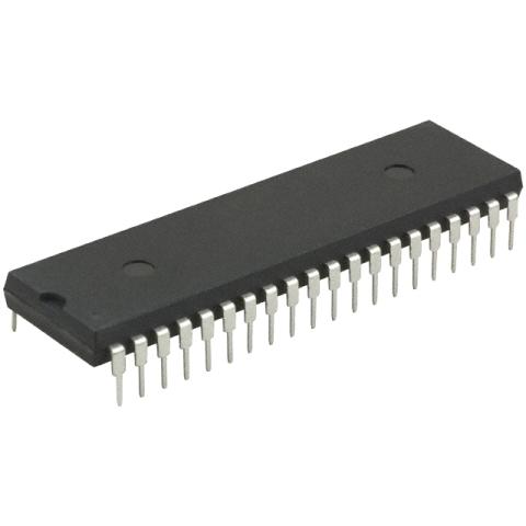 מיקרו בקר - DIP - 64KByte / 3.9KByte - 8BIT - 40MHZ - 36 I/O MICROCHIP