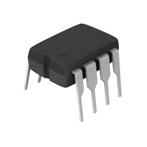 ממיר דיגיטלי לאנלוגי (DIP - 8BIT - 833KSPS - SERIAL - (DAC ANALOG DEVICES