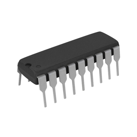 ממיר דיגיטלי לאנלוגי (DIP - 8BIT - 143KSPS - PARALLEL - (DAC ANALOG DEVICES