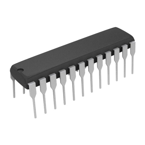 ממיר דיגיטלי לאנלוגי (DIP - 8BIT - 200KSPS - PARALLEL - (DAC ANALOG DEVICES