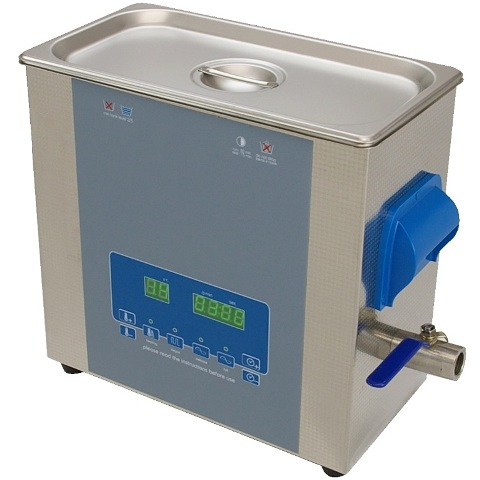 DURATOOL 3 AND 6 LITRE DIGITAL ULTRASONIC CLEANERS