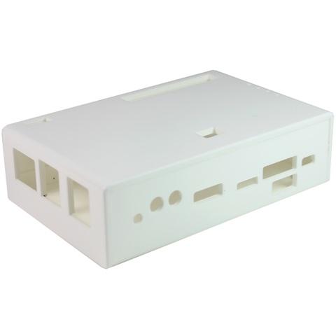 קופסת זיווד לבנה עבור כרטיס הפיתוח RIOTBOARD CAMDENBOSS