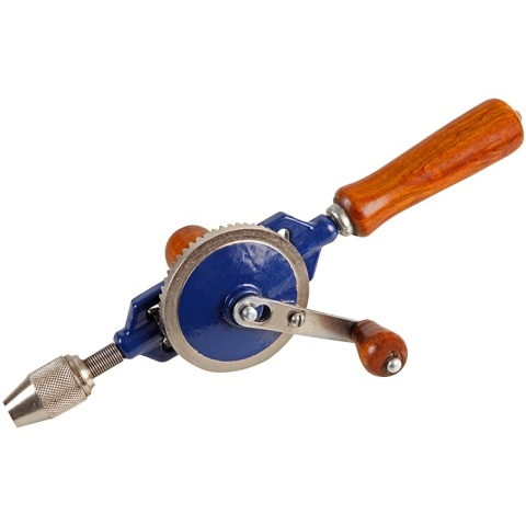 DURATOOL DOUBLE PINION HAND DRILL