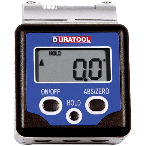 DURATOOL DIGITAL BEVEL BOX WITH VIAL