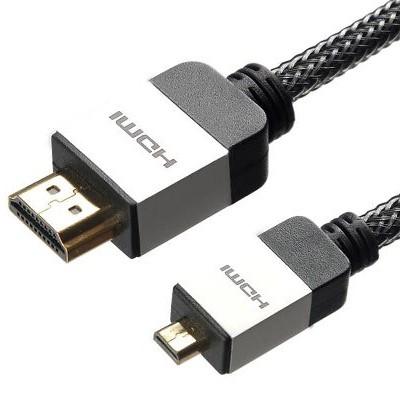 כבל זכר/זכר 4K UHD MICRO HDMI 1.5M PRO-SIGNAL