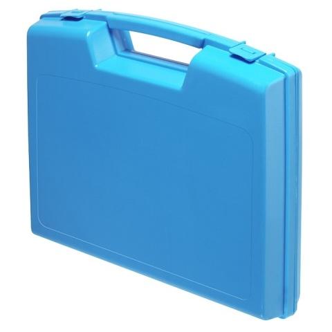 מזוודת אחסון 240X205X48MM - עם ריפוד פנימי - כחולה PLASTICA PANARO