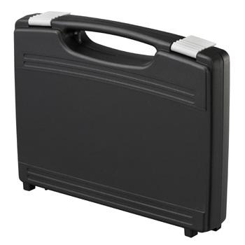 מזוודת אחסון 260X210X44MM - עם ריפוד פנימי - שחורה PLASTICA PANARO