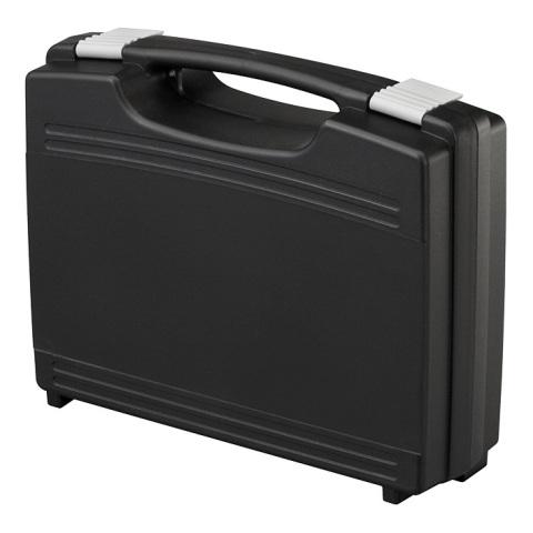 מזוודת אחסון 260X210X76MM - עם ריפוד פנימי - שחורה PLASTICA PANARO