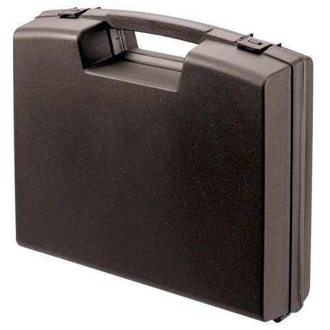 מזוודת אחסון 280X240X76MM - ללא ריפוד פנימי - שחורה PLASTICA PANARO