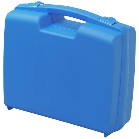 מזוודת אחסון 320X280X119MM - עם ריפוד פנימי - כחולה PLASTICA PANARO