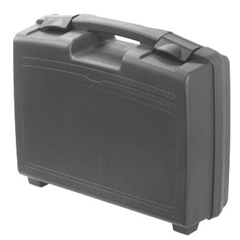 מזוודת אחסון 370X307X121MM - עם ריפוד פנימי - שחורה PLASTICA PANARO
