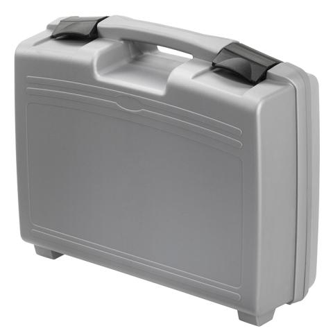 מזוודת אחסון 370X307X121MM - עם ריפוד פנימי - אפורה PLASTICA PANARO