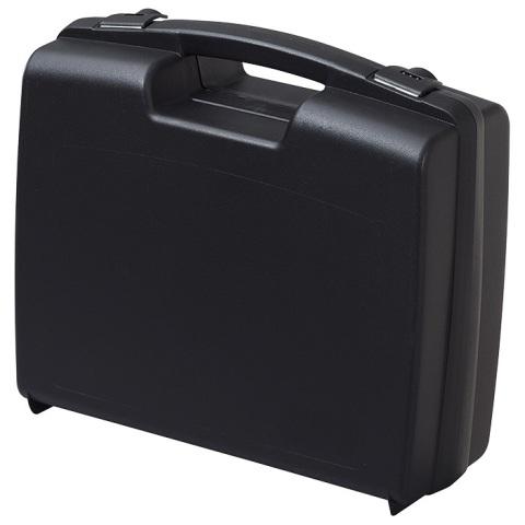 מזוודת אחסון 320X280X119MM - עם ריפוד פנימי - שחורה PLASTICA PANARO