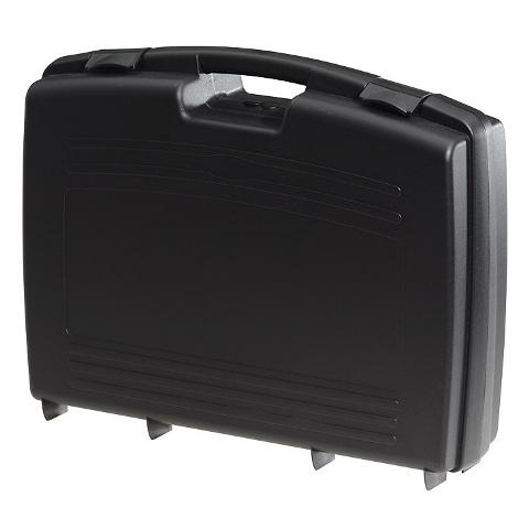 מזוודת אחסון 524X420X130MM - עם ריפוד פנימי - שחורה PLASTICA PANARO