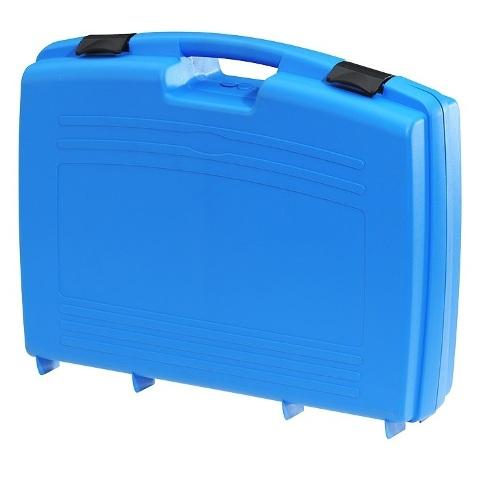 מזוודת אחסון 524X420X130MM - עם ריפוד פנימי - כחולה PLASTICA PANARO