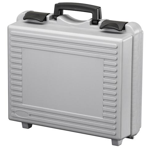 מזוודת אחסון 320X247X150MM - עם ריפוד פנימי - אפורה PLASTICA PANARO