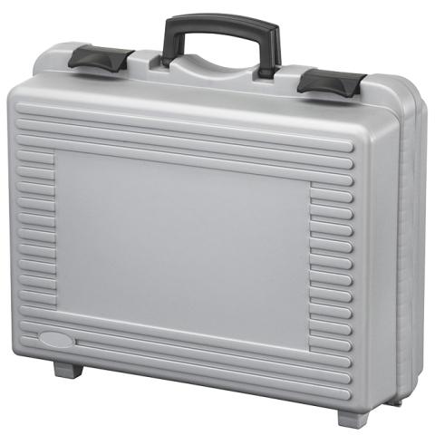 מזוודת אחסון 460X325X145MM - עם ריפוד פנימי - אפורה PLASTICA PANARO