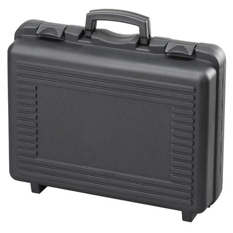 מזוודת אחסון 460X325X170MM - עם ריפוד פנימי - שחורה PLASTICA PANARO