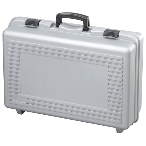 מזוודת אחסון 575X355X132MM - עם ריפוד פנימי - אפורה PLASTICA PANARO