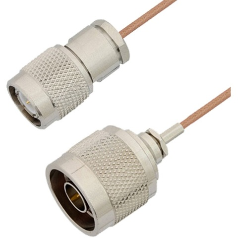 MULTICOMP TNC TO N TYPE CABLES USING RG178 COAX