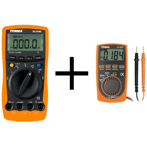 TENMA DIGITAL MULTIMETERS - PRO II SERIES