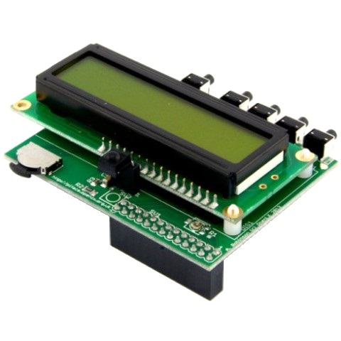 +PIFACE CONTROL & DISPLAY 2 FOR THE RASPBERRY PI B