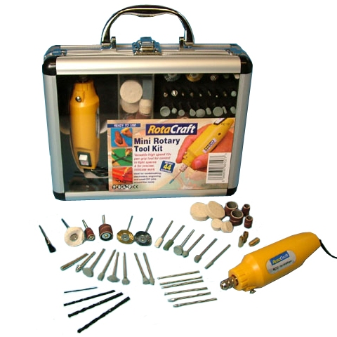 ROTACRAT 12V MINI ROTARY TOOL KIT - RC12