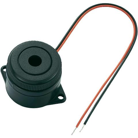 PRO-SIGNAL PANEL MOUNTING PIEZO BUZZER WITH LEADS