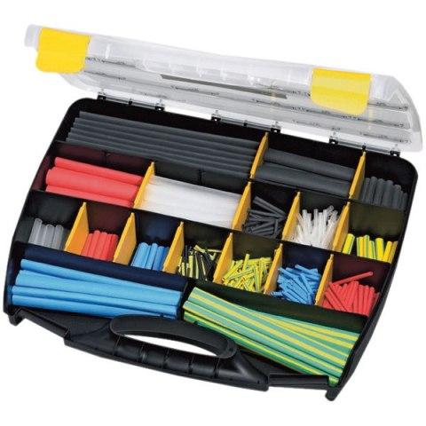 בידוד מתכווץ - קיט 875 יחידות בצבעים שונים HELLEMANN TYTON
