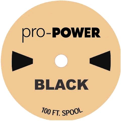 בידוד מתכווץ שחור 1.6MM - גליל 30 מטר PRO-POWER