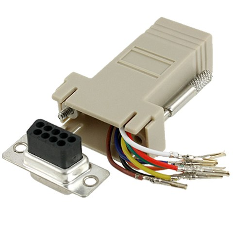 MULTICOMP RJ45 TO DB9 TELEPHONE ADAPTERS