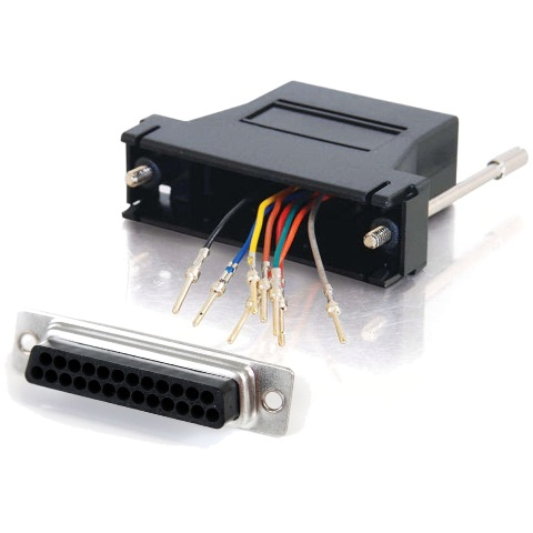 MULTICOMP RJ45 TO DB25 TELEPHONE ADAPTERS