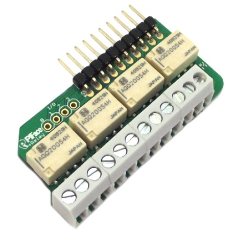 PIFACE RELAY EXTRA BOARD FOR THE RASPBERRY PI