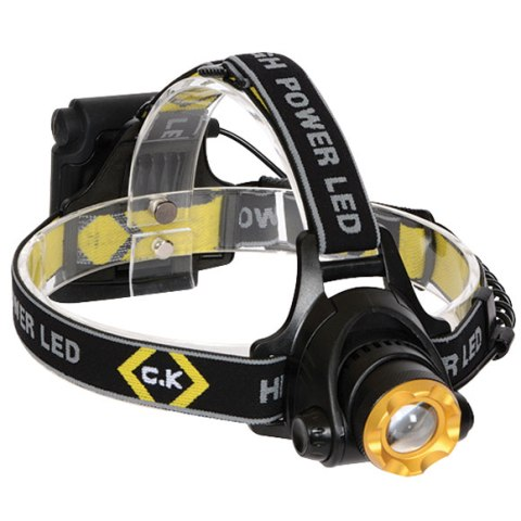 פנס ראש מקצועי - CREE LED 200 LUMENS CK TOOLS