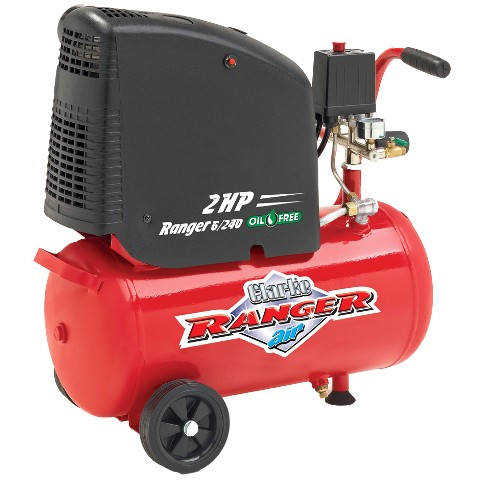CLARKE 24L OIL FREE AIR COMPRESSOR - RANGER 6/240