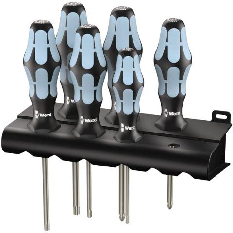 WERA KRAFTFORM STAINLESS STEEL SCREWDRIVER SET - 3367/3355/6