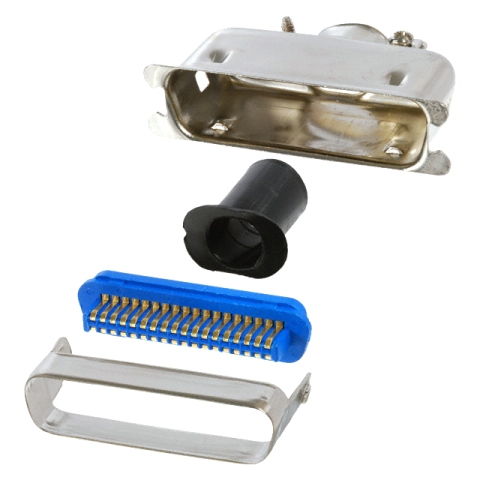 MULTICOMP D-TYPE CENTRONICS IN-LINE SOLDER CONNECTORS