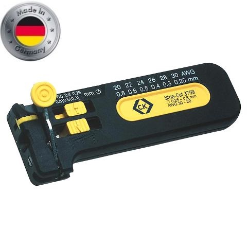 CK TOOLS PRECISION FIXED SIZE WIRE STRIPPERS