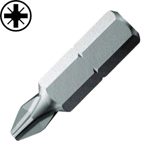 חבילת ביטים למברגה - פוזידרייב - PZ3 X 25MM DURATOOL