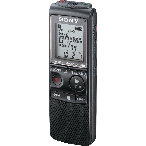 SONY DIGITAL VOICE RECORDER - ICD-PX240