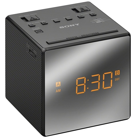SONY FM/AM CLOCK RADIO - ICF-C1T