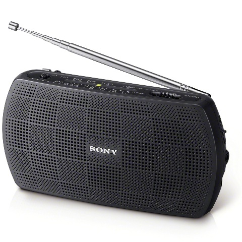 SONY PORTABLE AM/FM RADIO - SRF-18