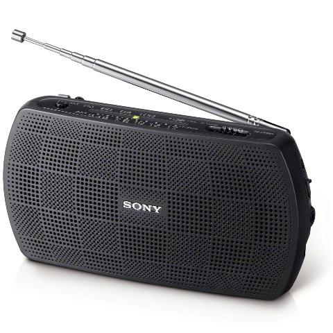 SONY PORTABLE AM/FM RADIO - SRF-18