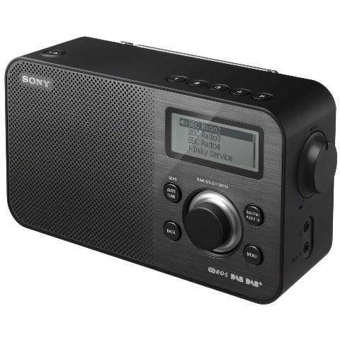 רדיו דיגיטלי שולחני - XDR-S60 BLK SONY