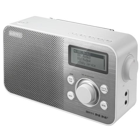 רדיו דיגיטלי שולחני - XDR-S60 WHT SONY