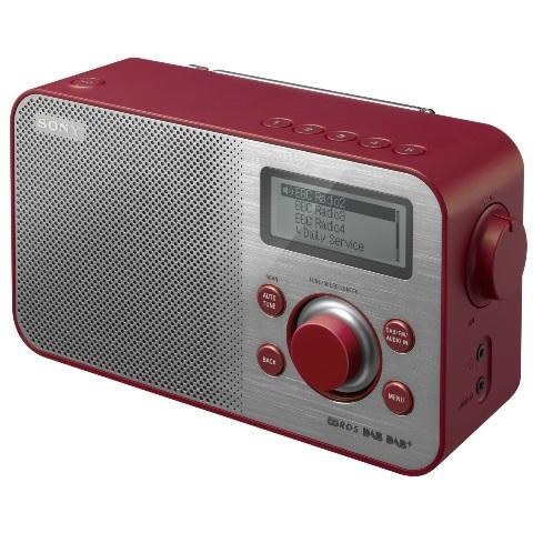 רדיו דיגיטלי שולחני - XDR-S60 RED SONY