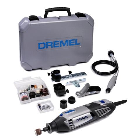 משחזת ציר חשמלית 220V - קיט 65 אביזרים - DREMEL 4000JD DREMEL