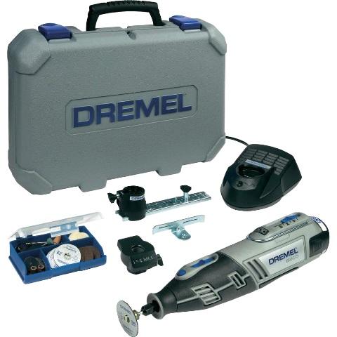 משחזת ציר נטענת 10.8V - קיט 45 אביזרים - DREMEL 8200JD DREMEL